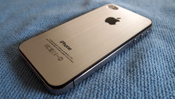 iphone 5 plateado