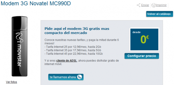 Modem 3G Novatel MC990D Movistar 600x294