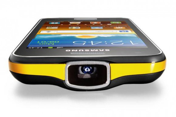 Samsung Galaxy Beam frontal
