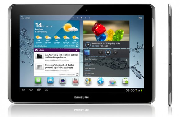 Samsung Galaxy Tab 2 10.1 580x379