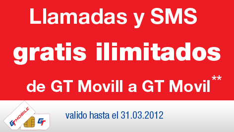 Llamadas gratis GT Mobile