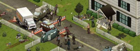 The Walking Dead The Social Game 580x214