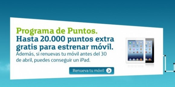 20000 puntos extra Movistar renovar mvil iPad gratis 580x290
