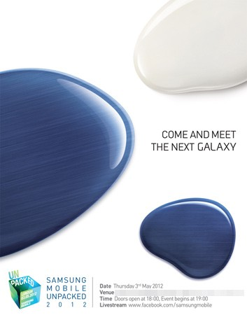 Invitacin Samsung Galaxy SIII 2 mayo Londres
