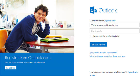 Outlook punto com