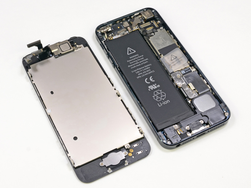 Descubre como es el interior del iphone 5 m vil invasi n for Interior iphone x