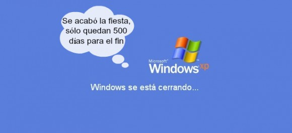 Windows XP fin de soporte