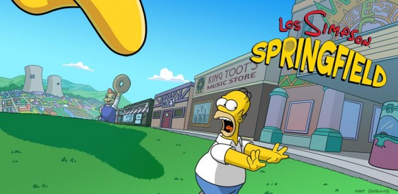 Los Simpsons Springfield Android