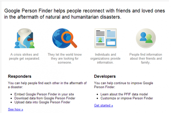 Google Person Finder Boston