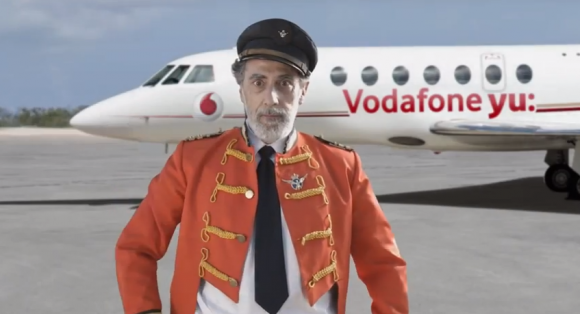 Vodafone yu Airlines