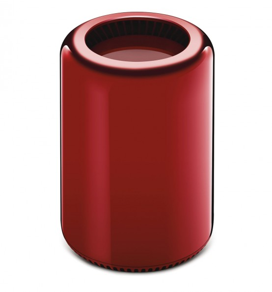 Mac Pro Product Red frontal