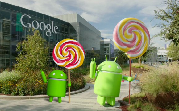 Android Lollipop Estatua
